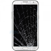 Galaxy Note 2 4G Byta glas