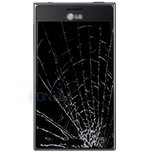 Optimus L5 Byta glas